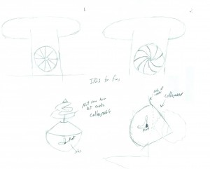 Phil's second sketches